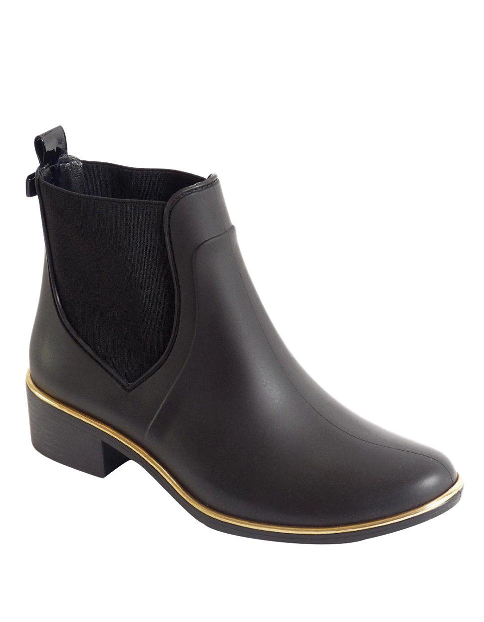 Kate spade new york Sedgewick Rubber Rain Boots in Black ...