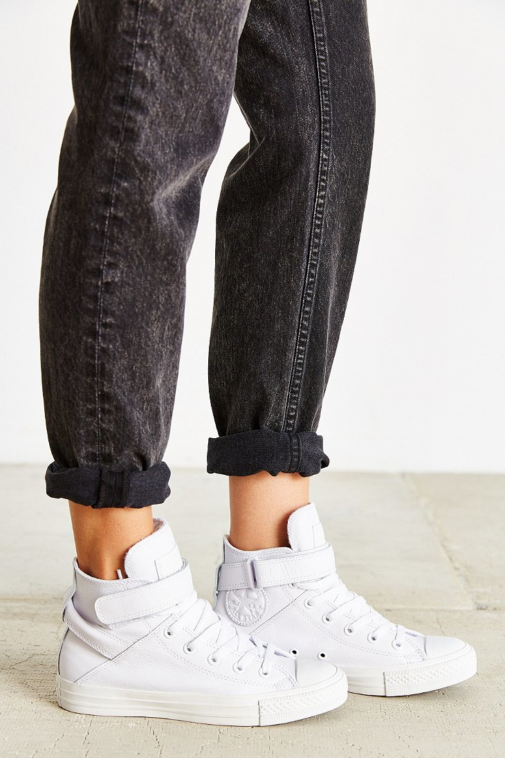 quality design 512ed 2c960 Converse Chuck Taylor All-star Brea Sneaker in White - Lyst