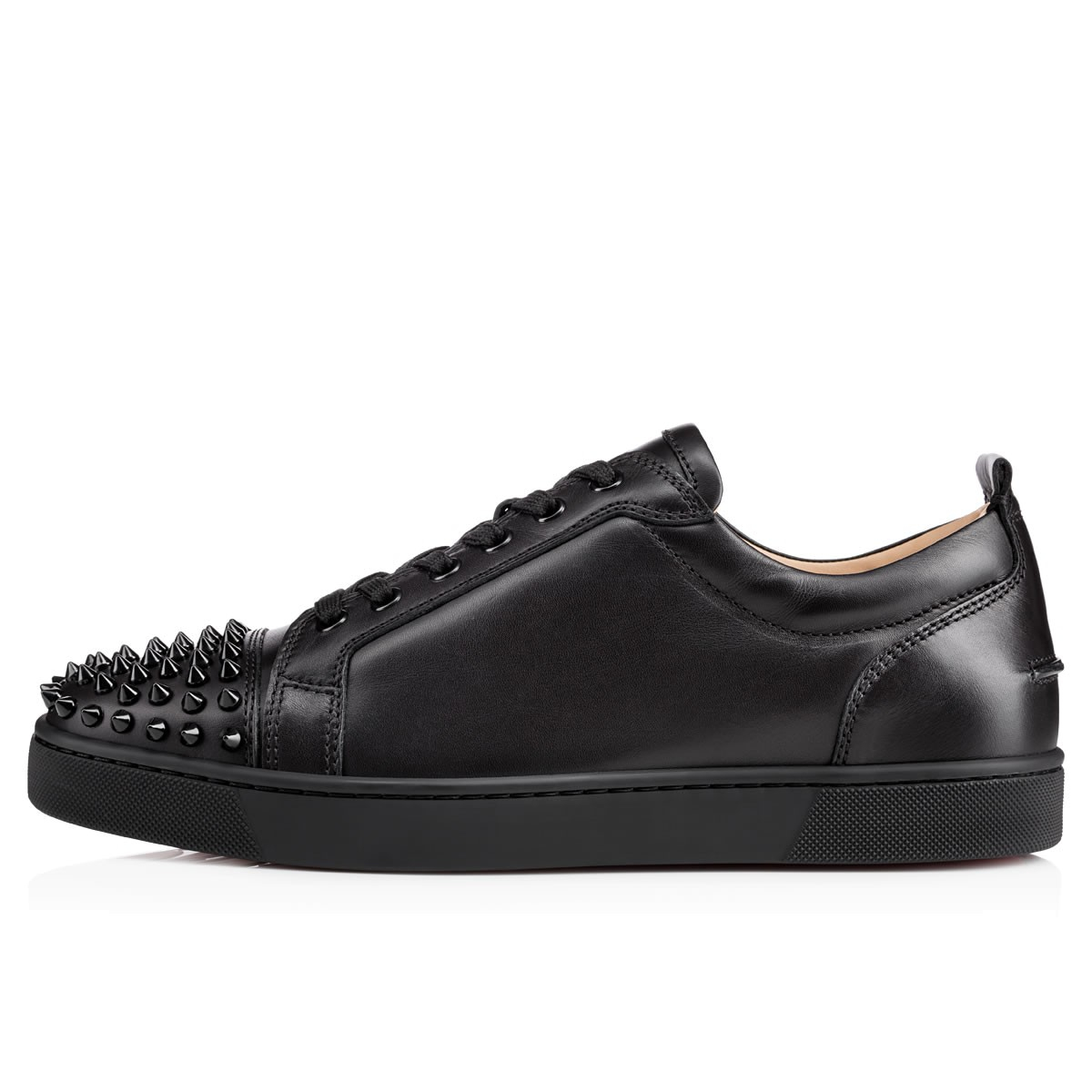 Lyst - Christian louboutin Louis Junior Spikes Leather ...