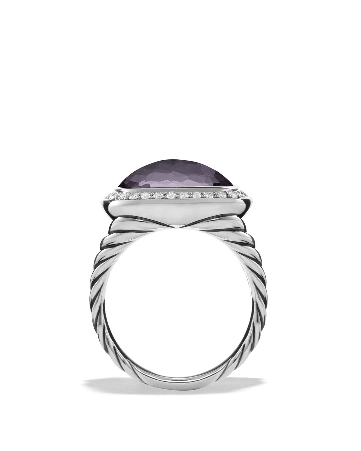 David Yurman Albion Ring With Lavender Amethyst And