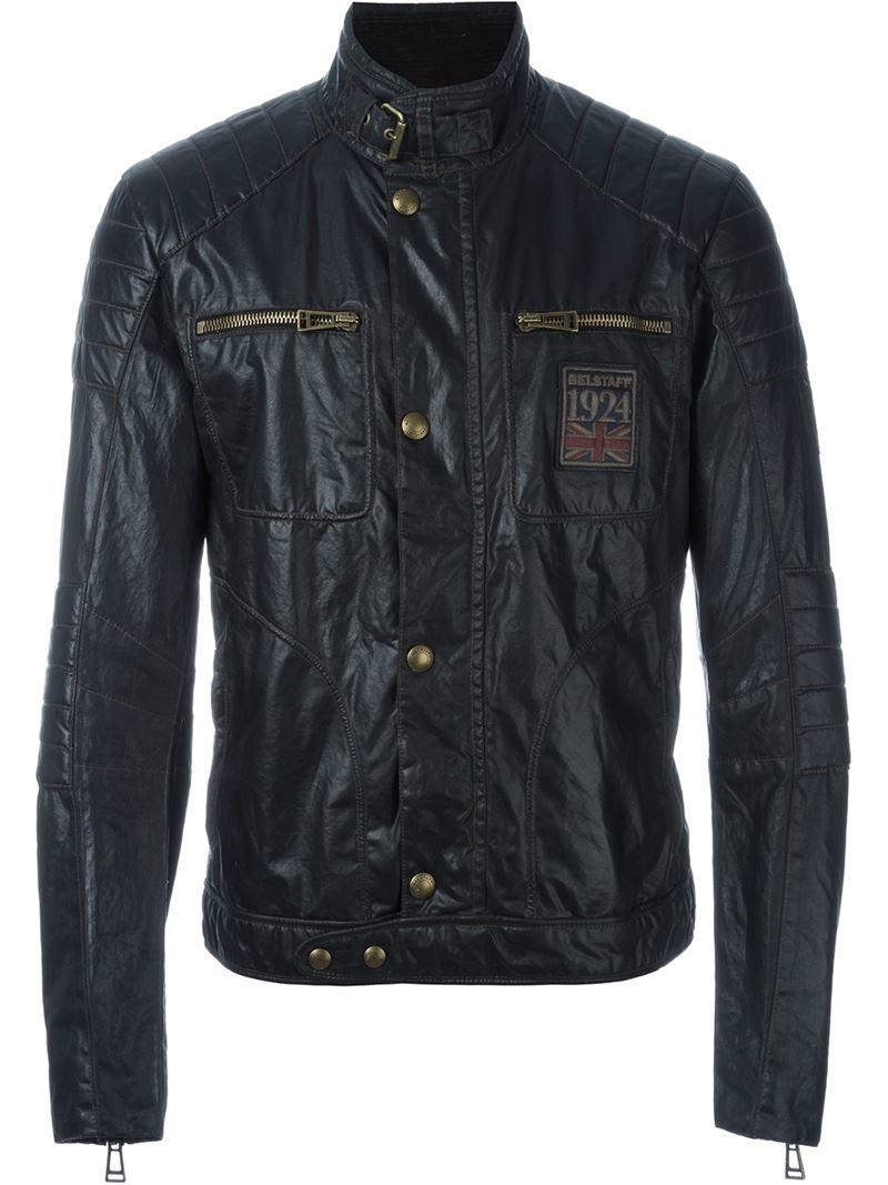 belstaff 39 vintage weybridge 39 jacket in black for men lyst. Black Bedroom Furniture Sets. Home Design Ideas