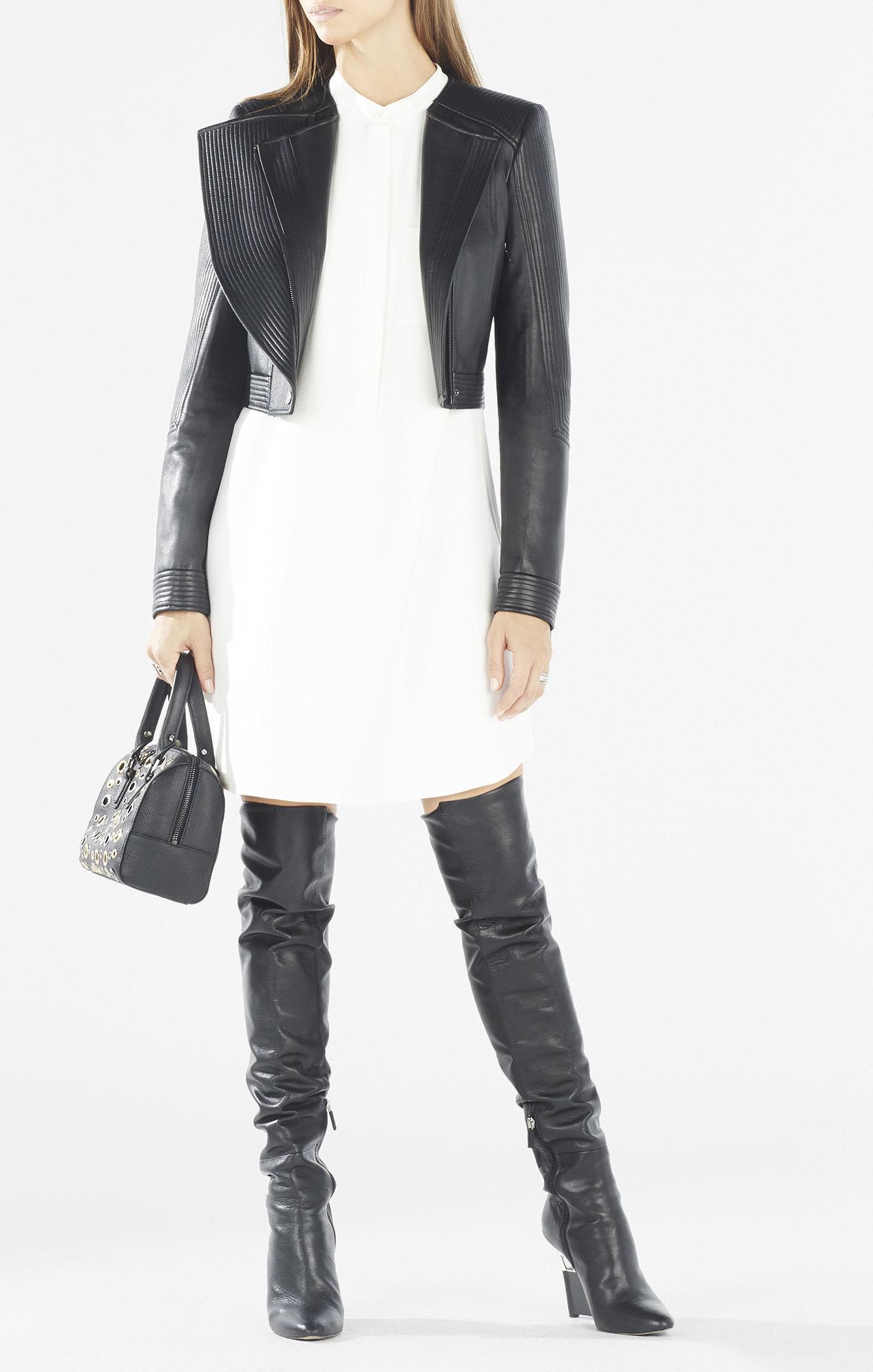 3c9e0ac4bc34 Bcbg Black Lace Dress Long Sleeve | Saddha
