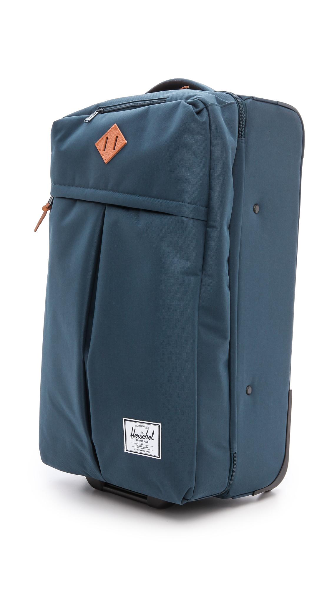 Lyst Herschel Supply Co Parcel Luggage Navy In Blue