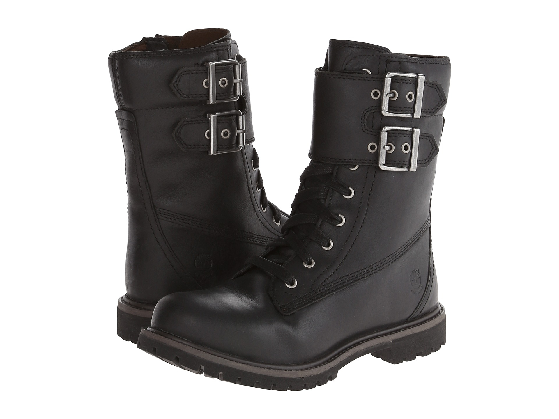 timberland womens earthkeepers black boots