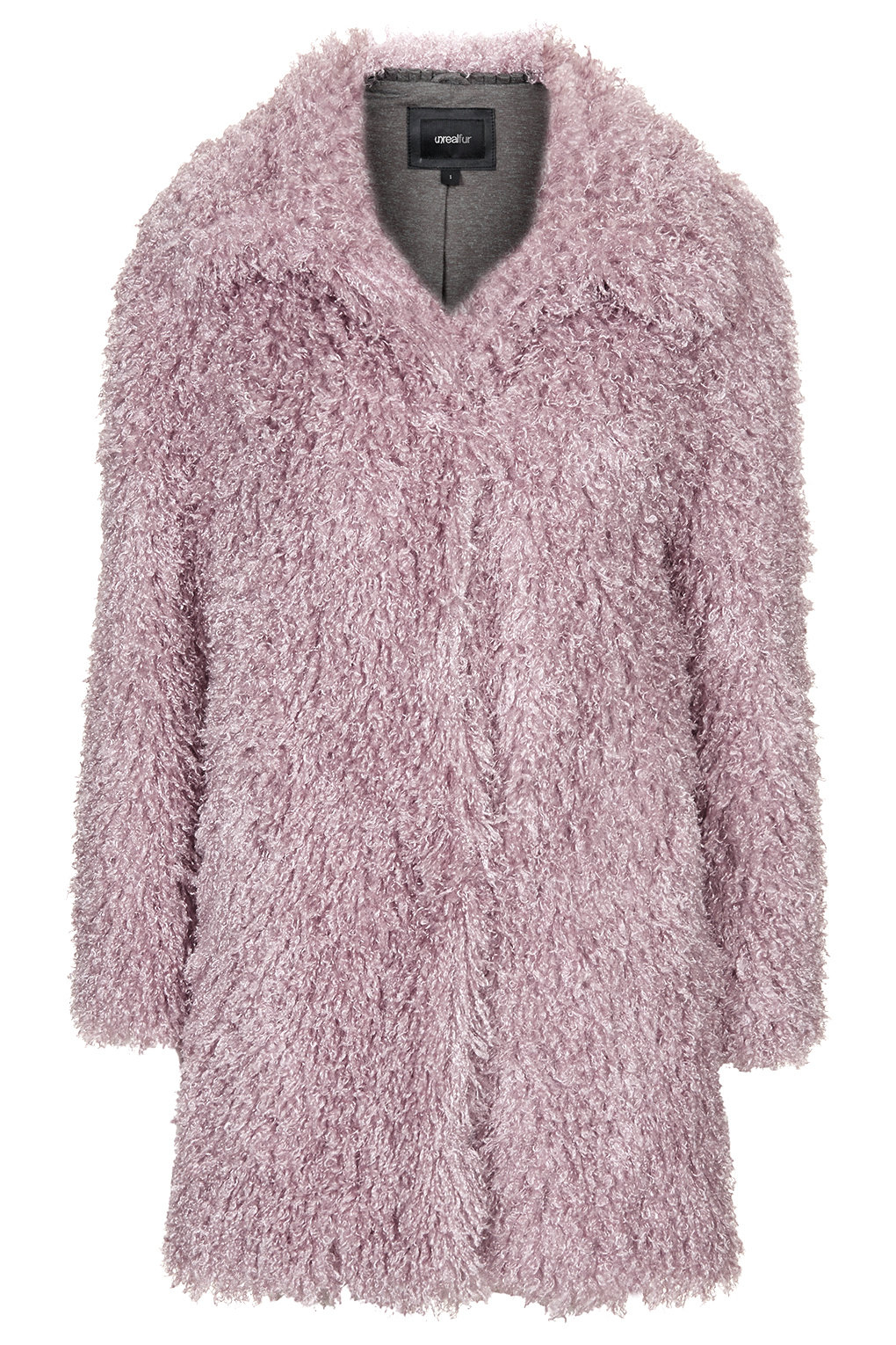 Topshop Pink Fur Coat | Down Coat