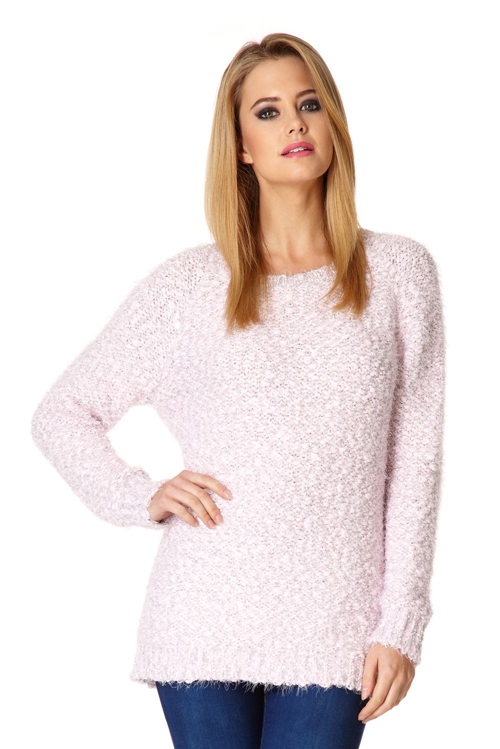 Knitting Trivia Questions : Lyst quiz popcorn knit jumper