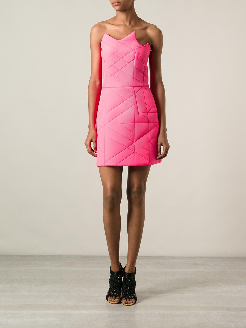 Dresses from ross -  Ross Dress Preen By Thornton Bregazzi Ross Dress In Purple Lyst