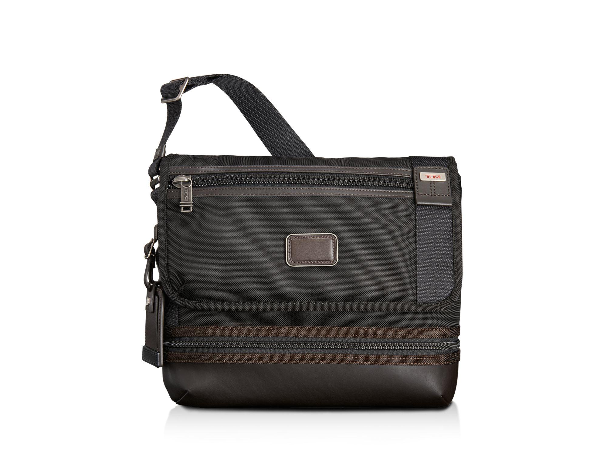 Tumi Beale Crossbody Messenger Bag In Brown Lyst