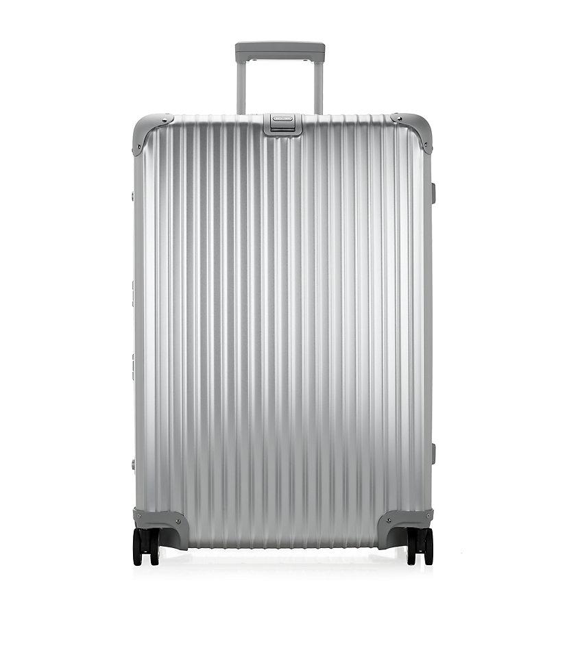 rimowa topas titanium multiwheel suitcase 81cm in metallic lyst. Black Bedroom Furniture Sets. Home Design Ideas