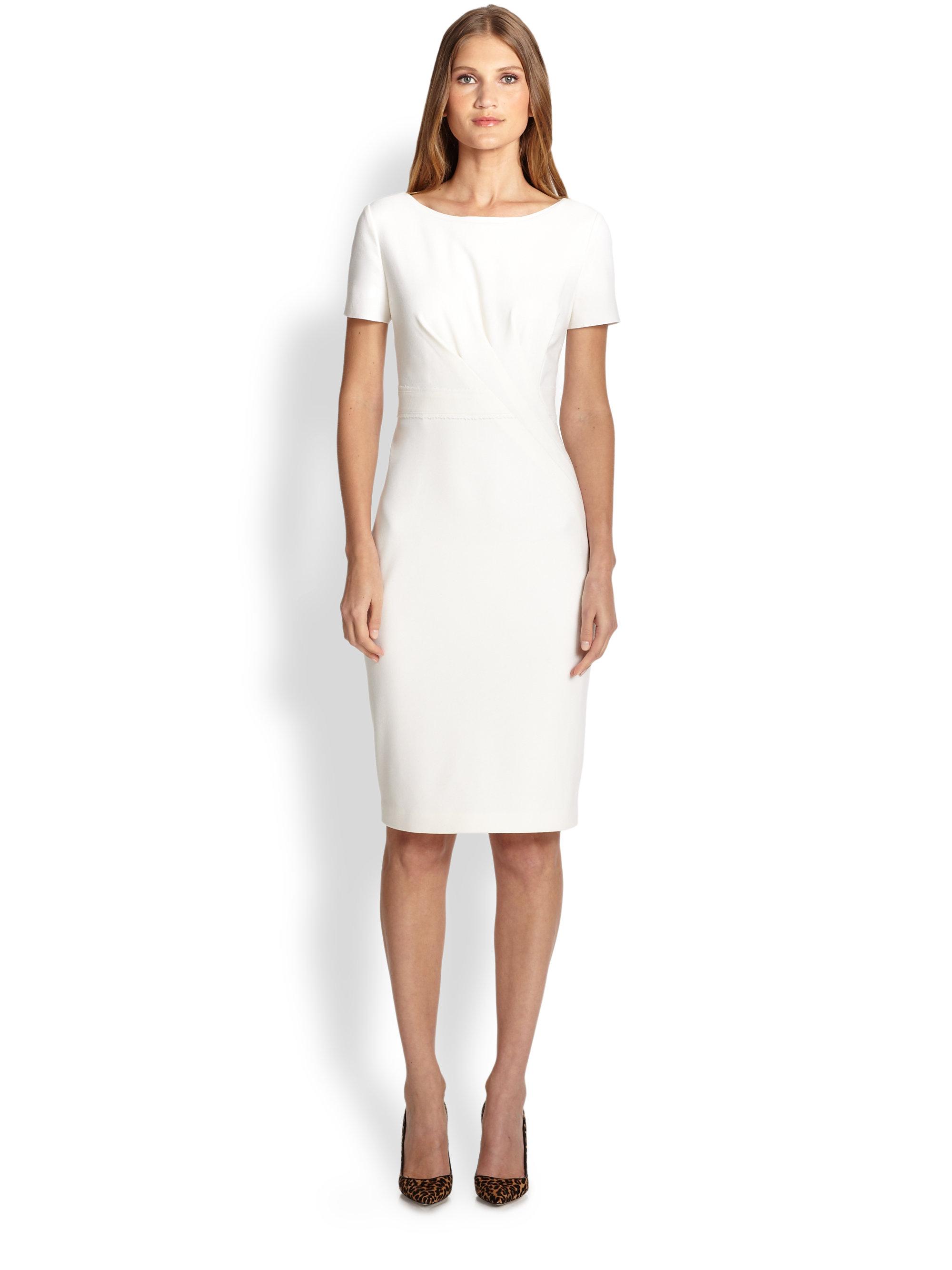 Elie tahari Kathleen Dress in White