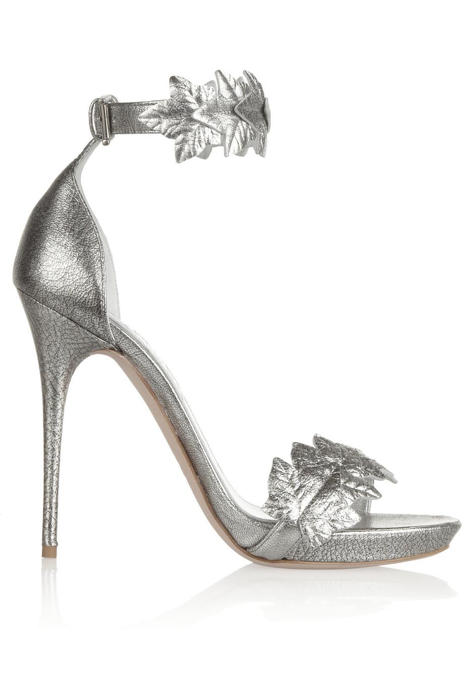 Silver Shoes Wedding 42 Inspirational SHOE PORN ALERT ALEXANDER