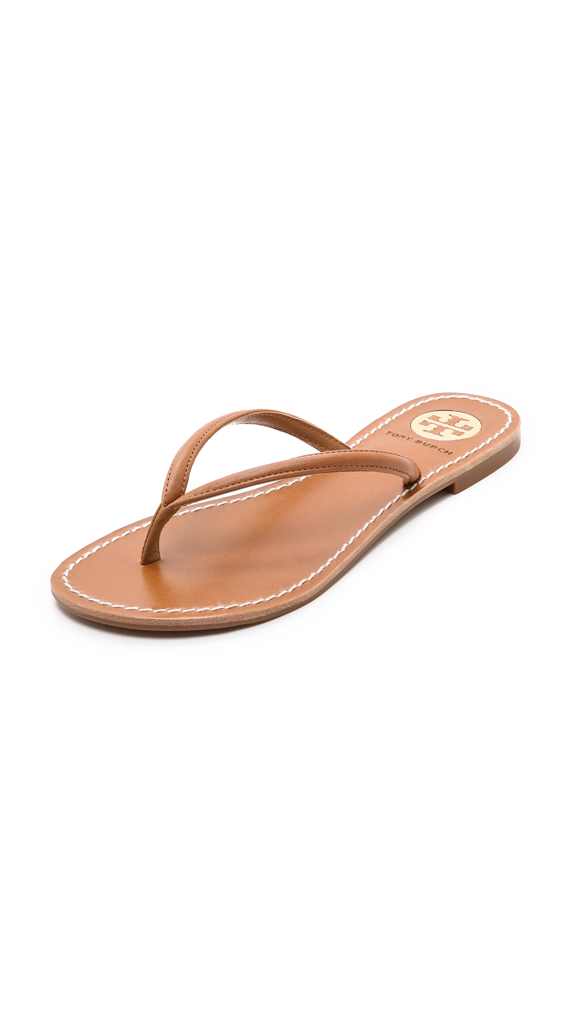 Lyst - Tory Burch Abitha Flip Flops In Brown-7608