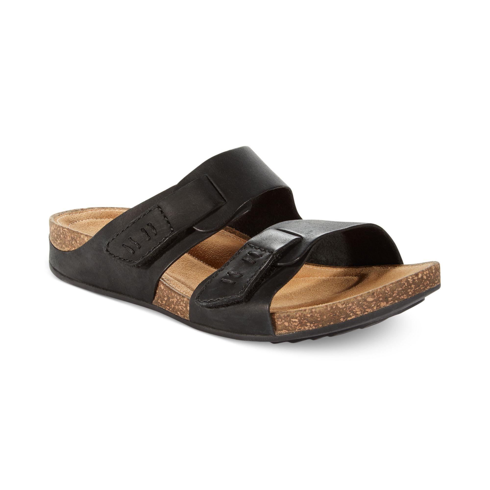 Clarks Womens Artisan Perri Island Footbed Sandals In