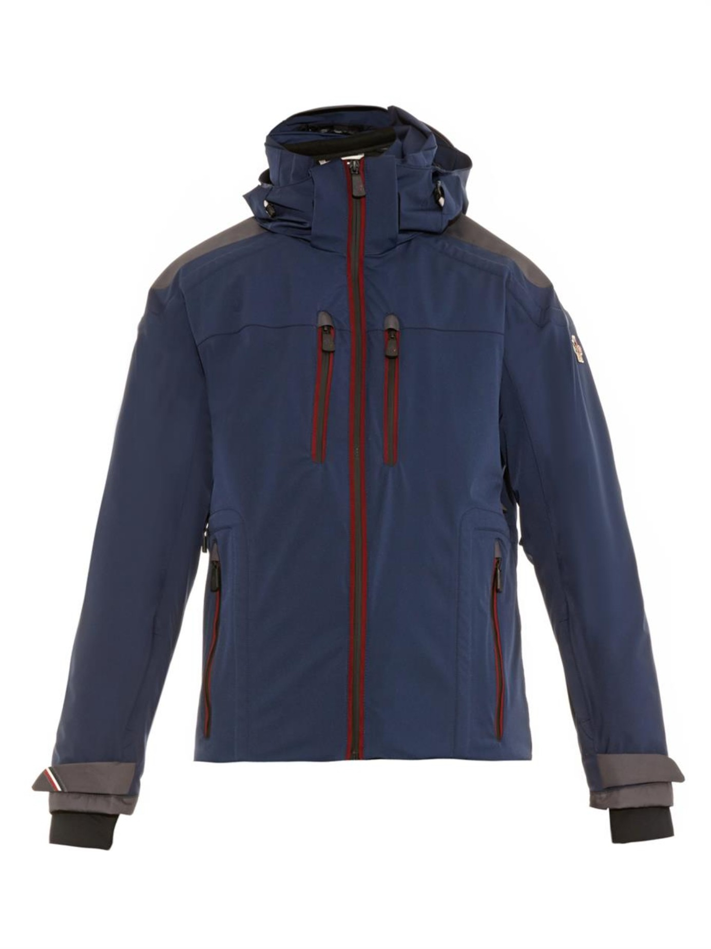 inexpensive moncler grenoble ajaccio recco ski jacket in blue for men lyst  2efeb 9ff0b f99a6086c