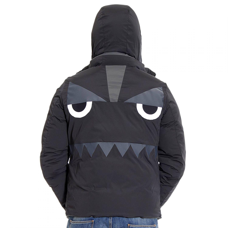 Lyst Fendi Down Jacket In Black For Men