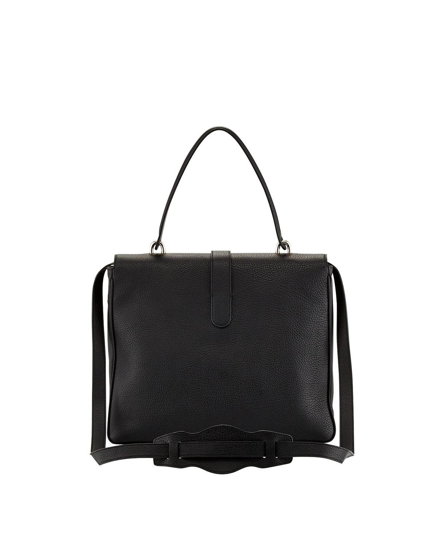 5e11453ccc Lyst - Balenciaga Tube Square Shoulder Bag Black in Black