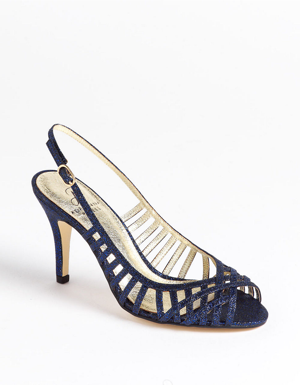 Adrianna Papell Flora Dress Sandals In Blue Lyst