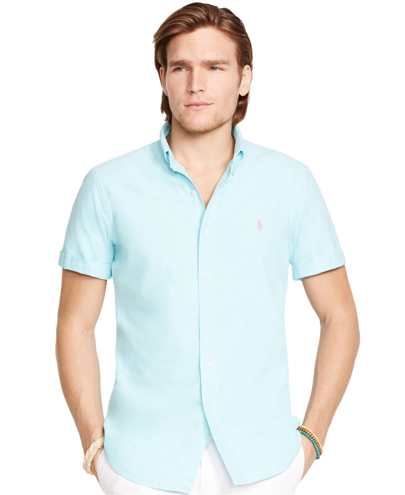 short sleeved logo polo shirt - Blue Polo Ralph Lauren Buy Cheap For Cheap Latest Collections For Sale myq7B6E1o