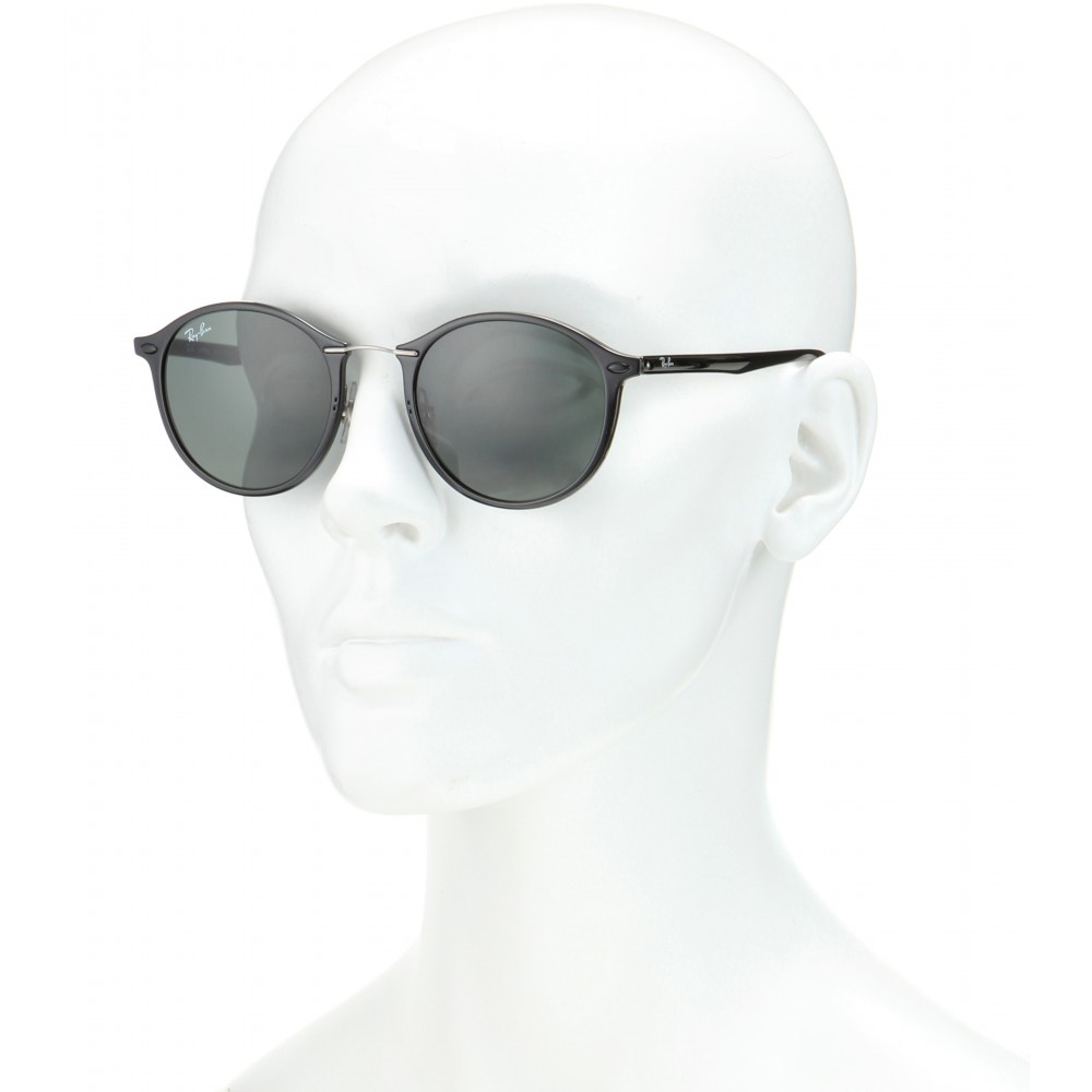 73392a8f75e Lyst - Ray-Ban Rb4242 Round Sunglasses in Black