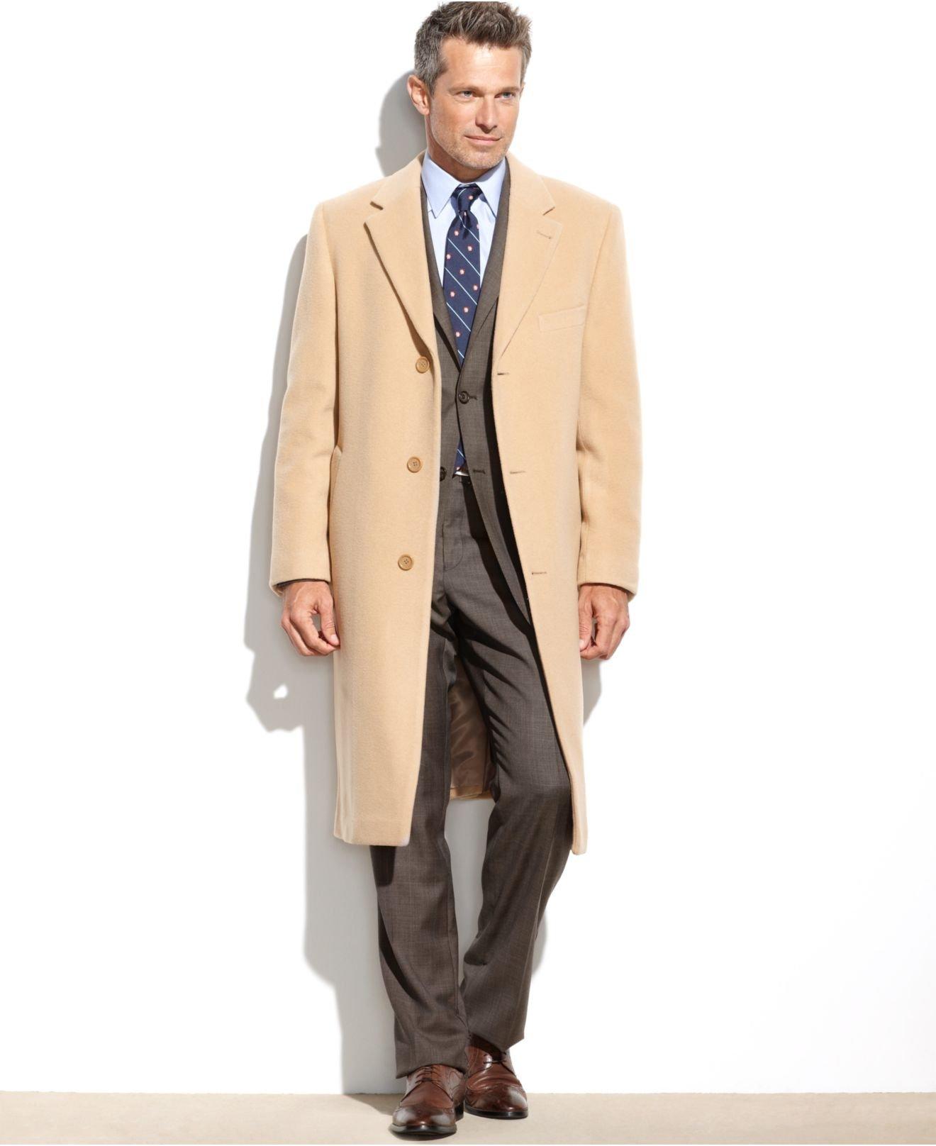 Cashmere overcoats for men