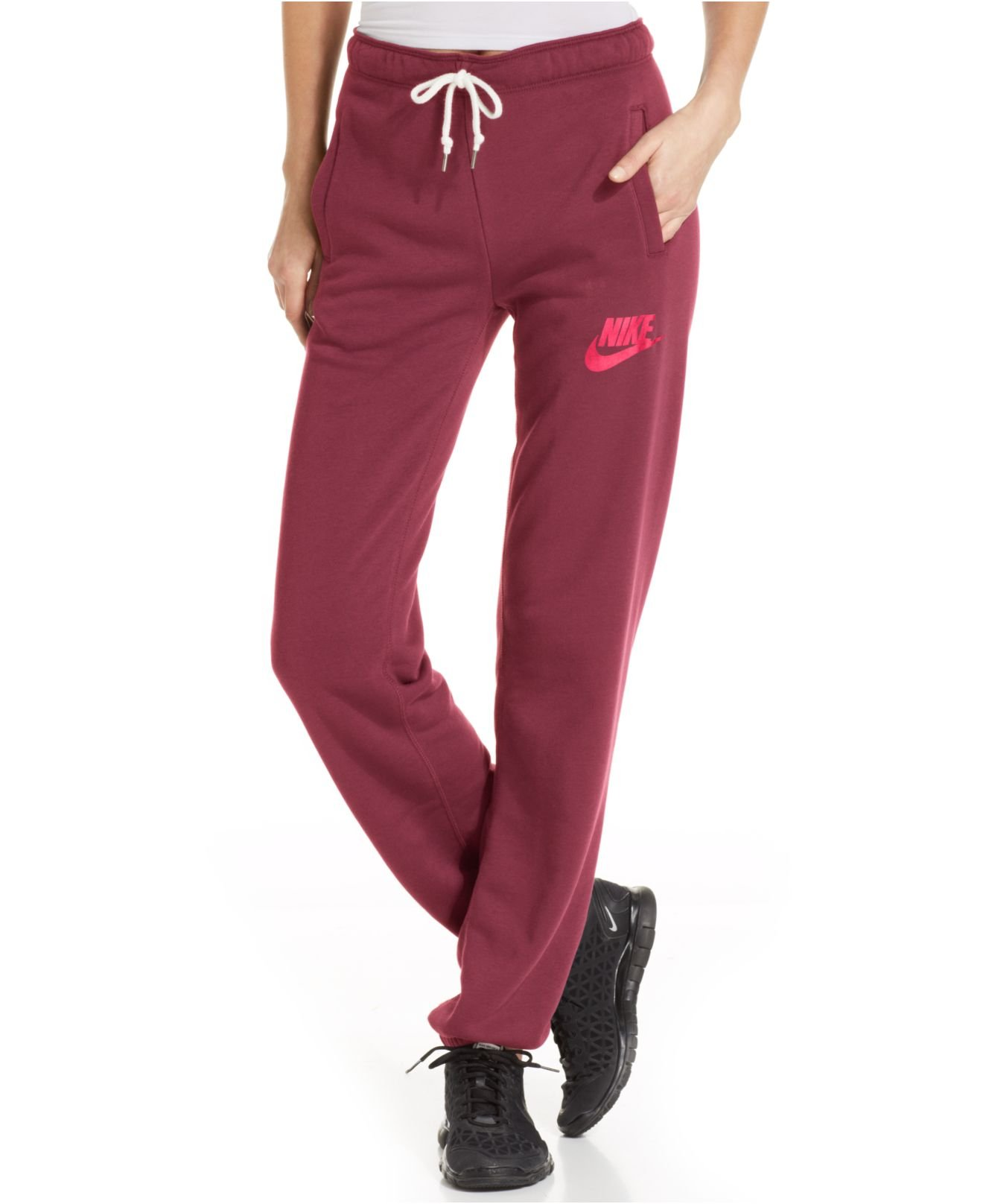 a04df926e099 Nike Maroon Sweatpants