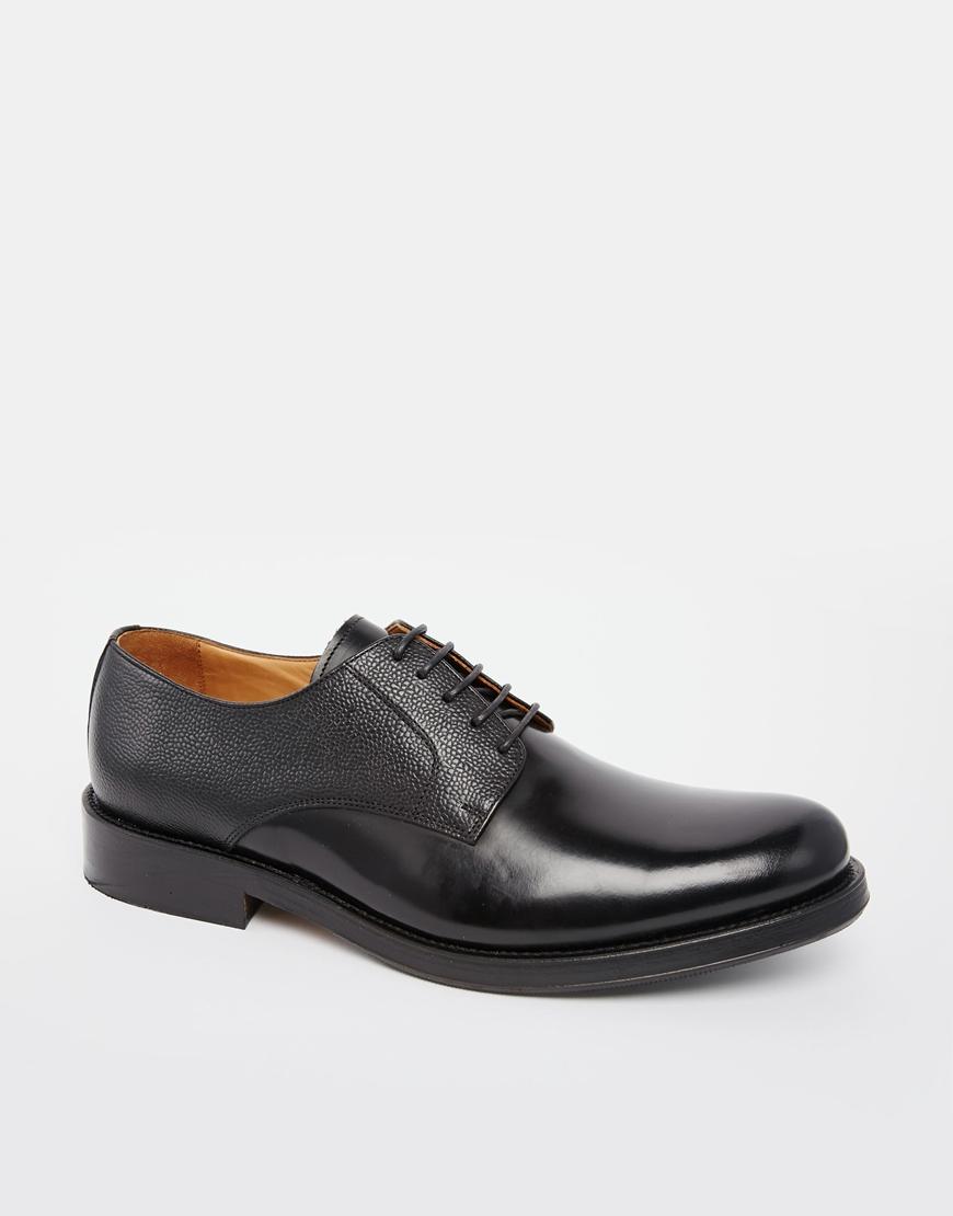 Selected HommeDERBY - Smart lace-ups - black Uq6hg83qth
