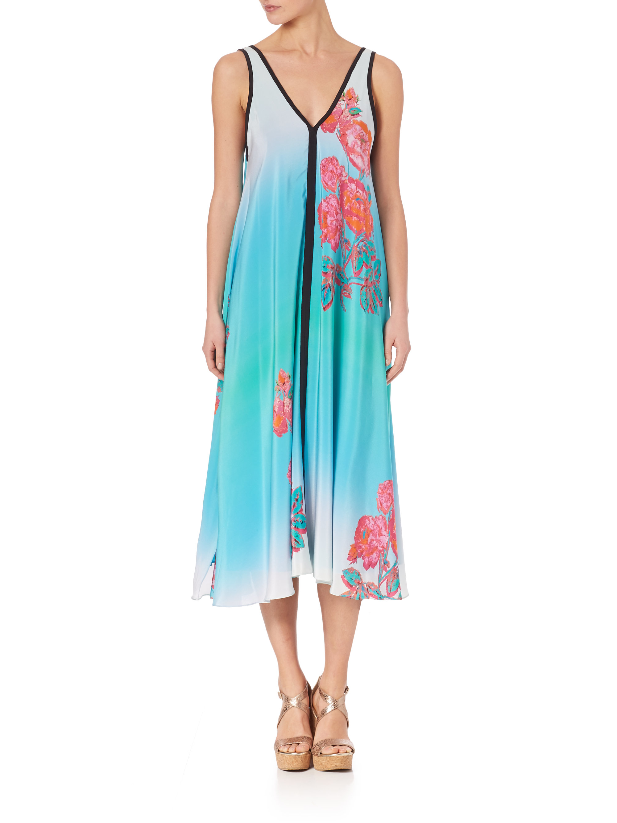 Lyst - Nanette Lepore After Party Dress in Blue