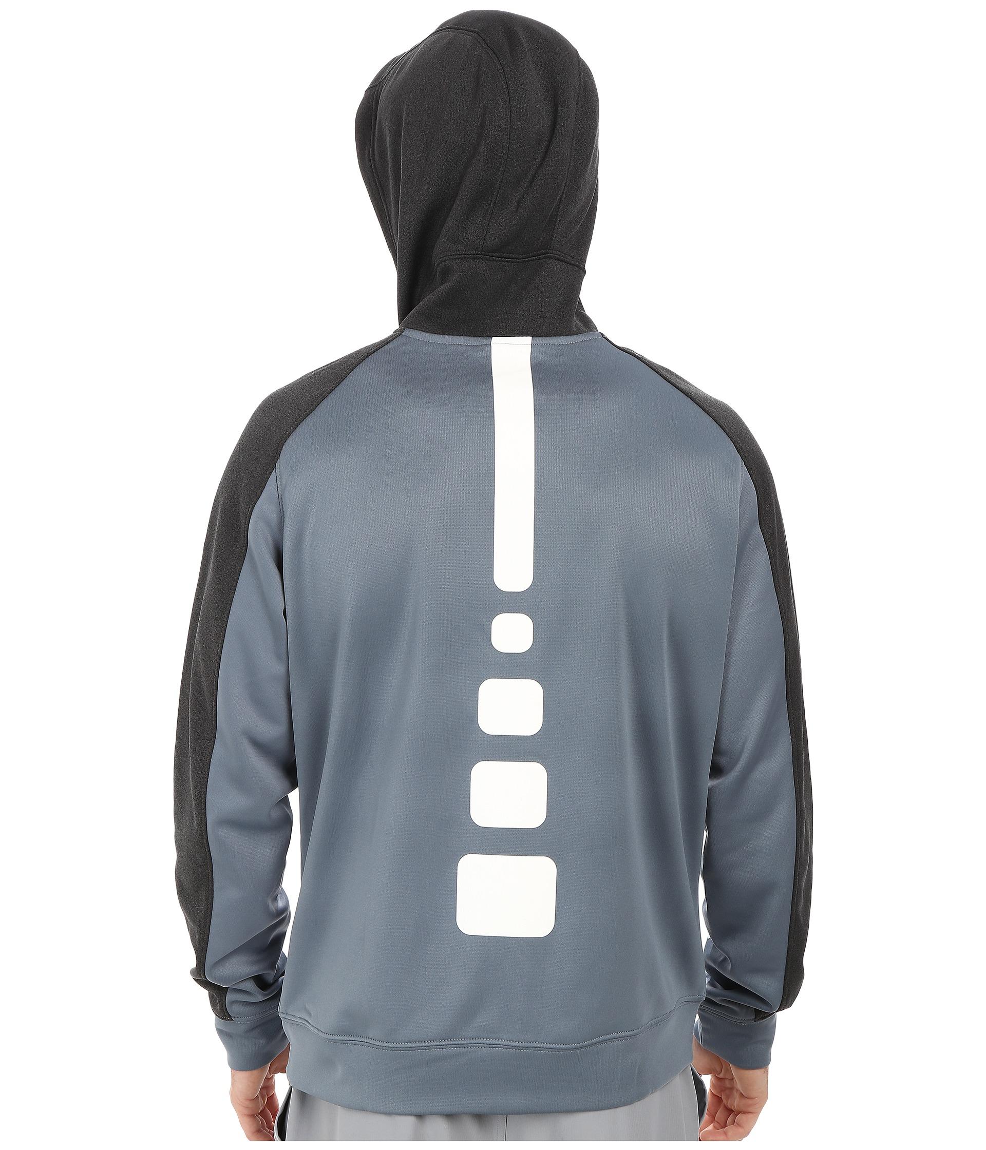 c634b2815136 Lyst - Nike Elite Stripe Full-Zip Performance Fleece Hoodie in Blue