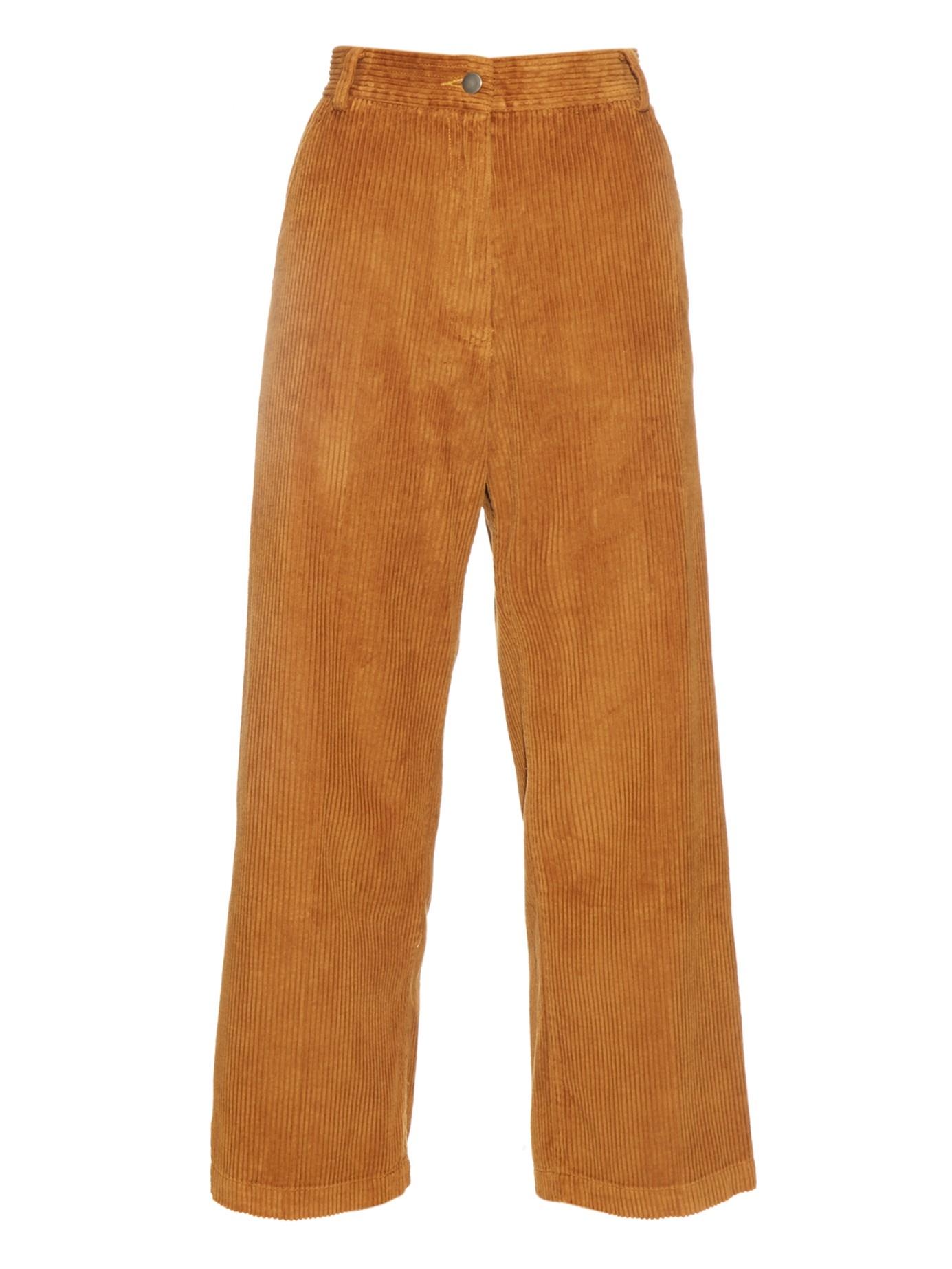 Rachel comey Bishop Wide Wale Corduroy Trousers in Brown ...