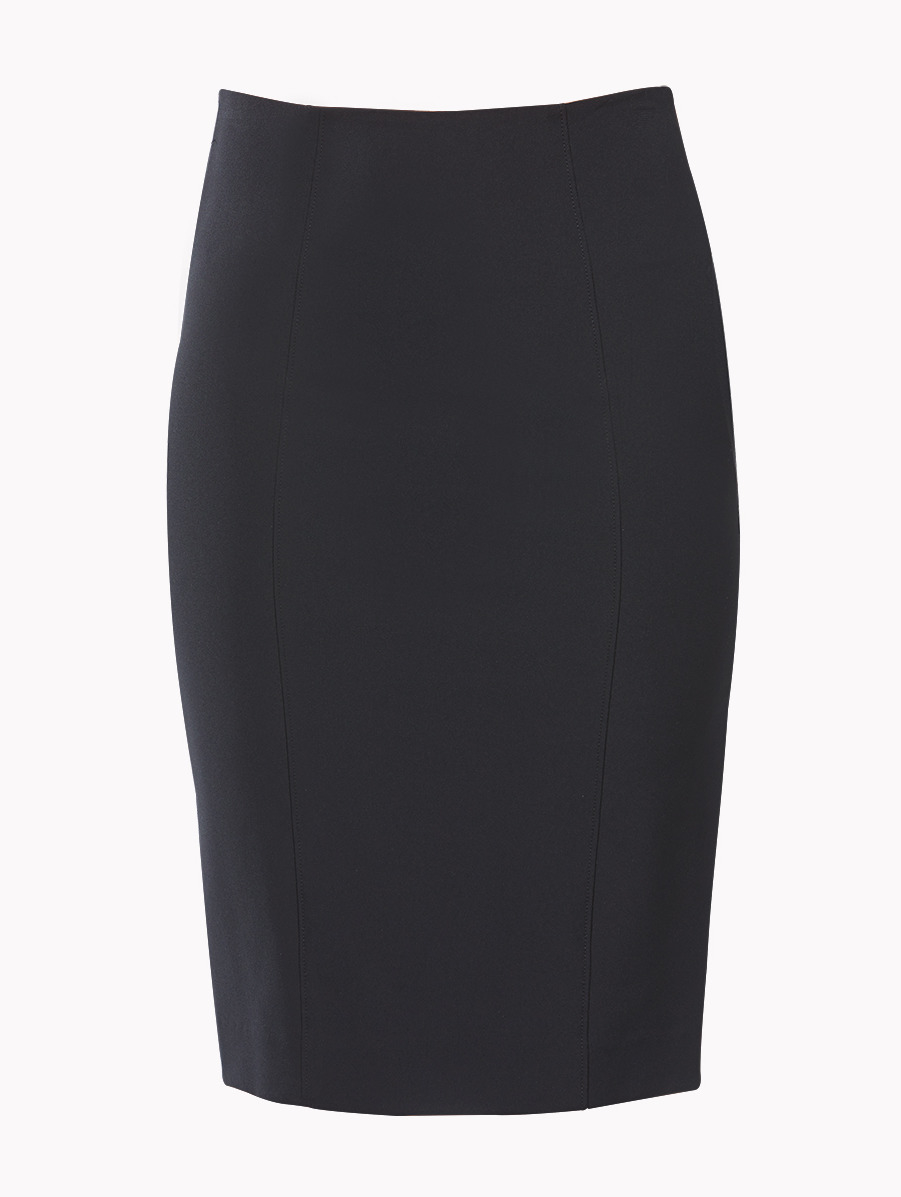 beard black scuba pencil skirt in black lyst