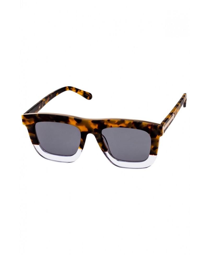 a451d87d9c4 Lyst - Karen Walker Deep Orchard Crazy Tortoise Sunglasses