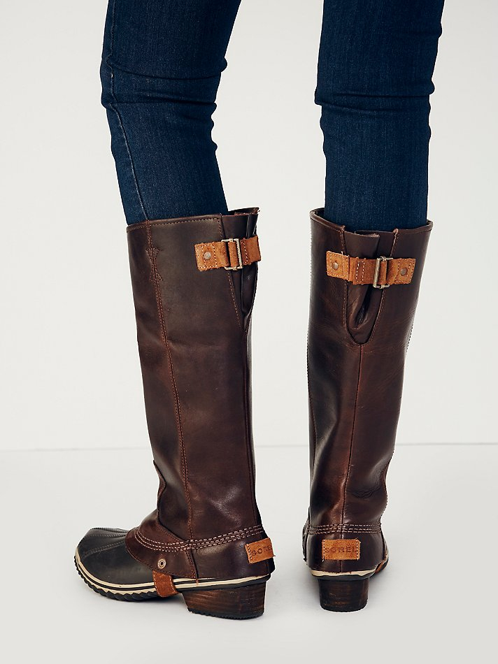 Lyst Free People Sorel Womens Slimpack Tall Weather Boot