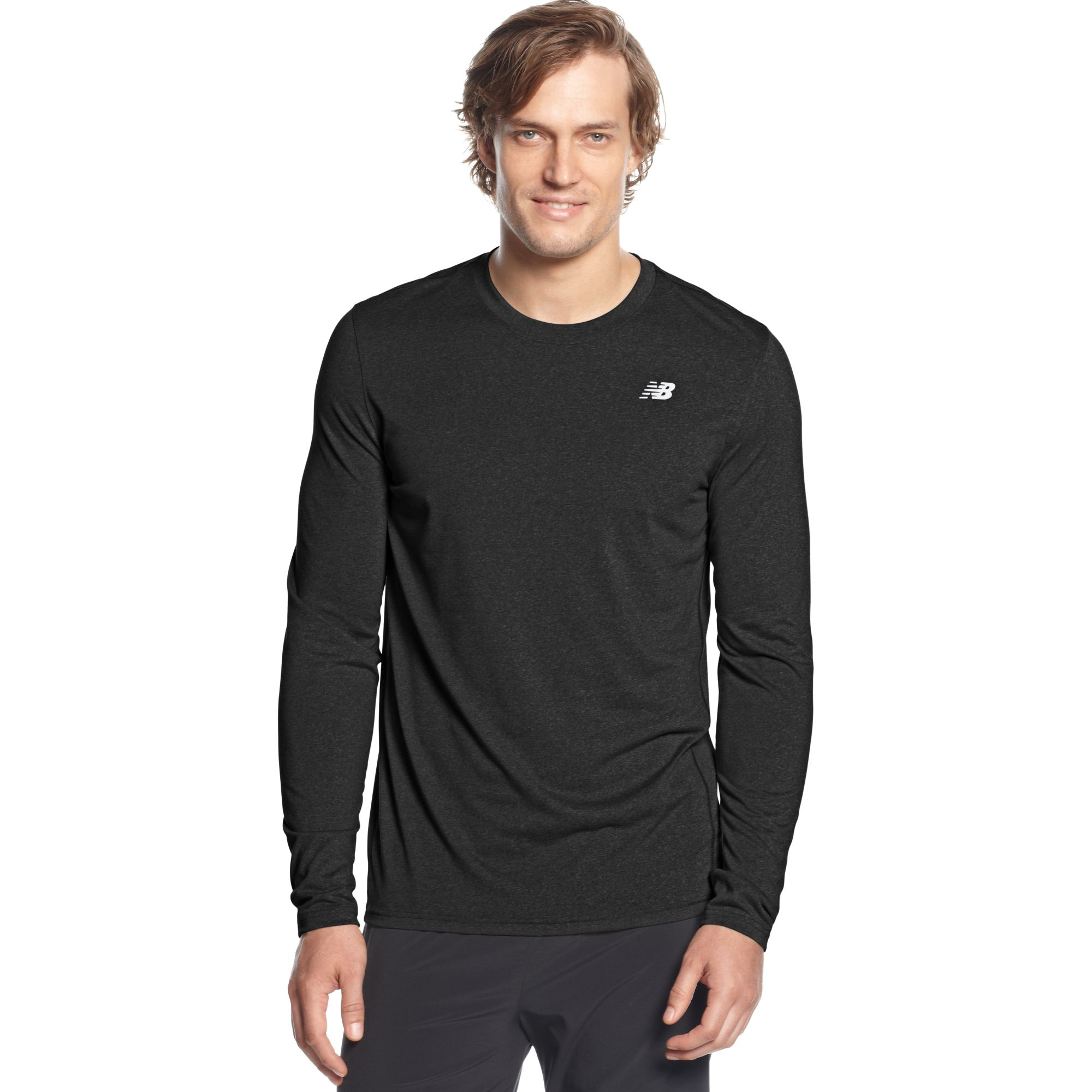 3eju7bsw cheap mens long sleeve new balance tech shirt 39 for Long sleeve technical running shirt