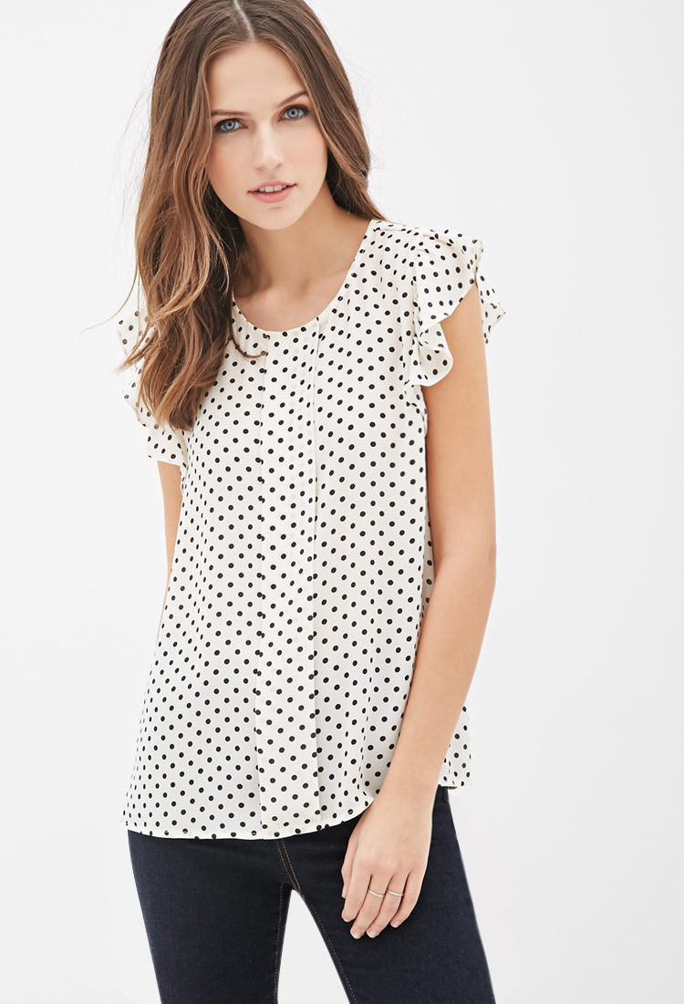 Shop from the world's largest selection and best deals for Women's Polka Dot Tops and Blouses. Free delivery and free returns on eBay Plus items.