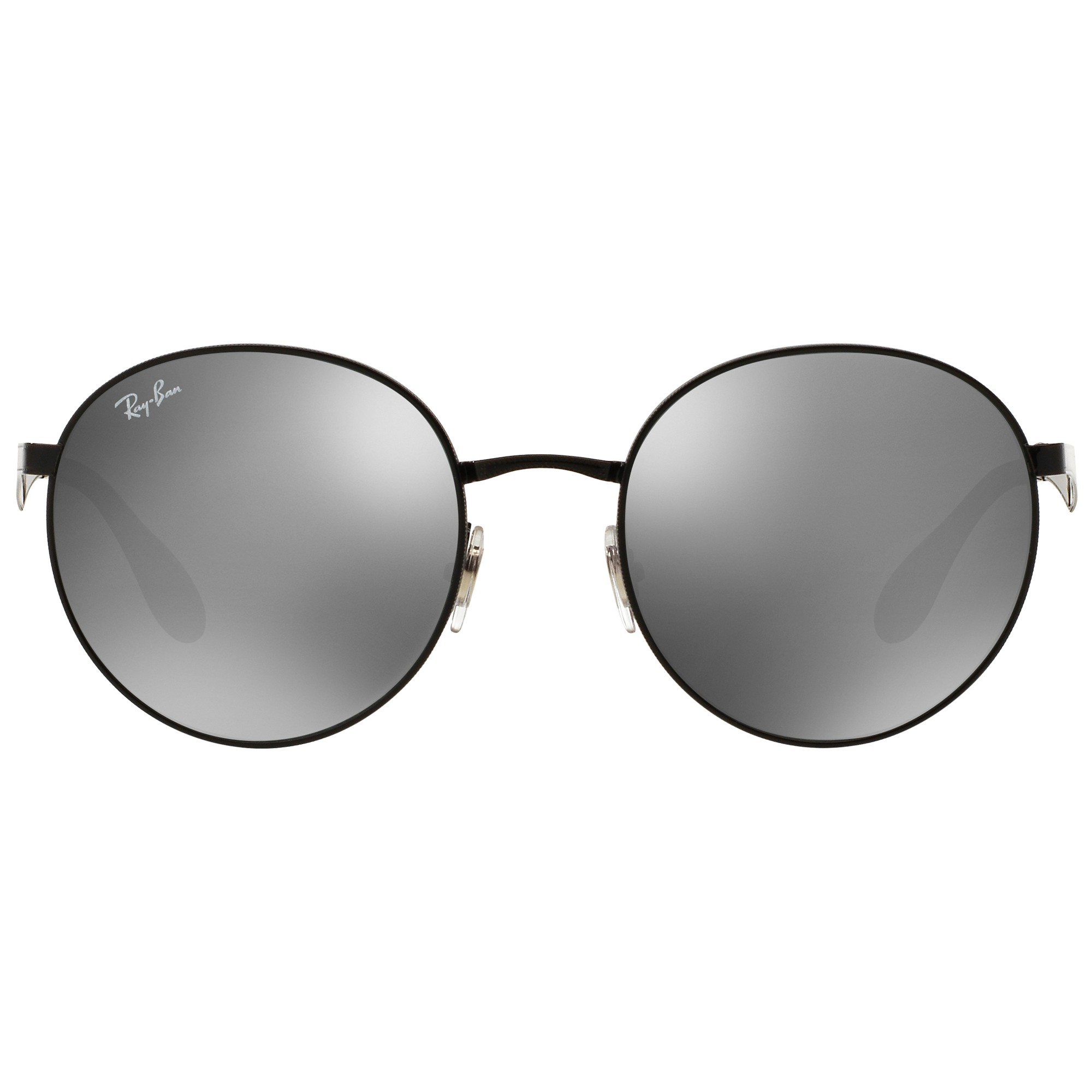 131c897d68 Ray-Ban Rb3537 Highstreet Round Sunglasses in Black - Lyst