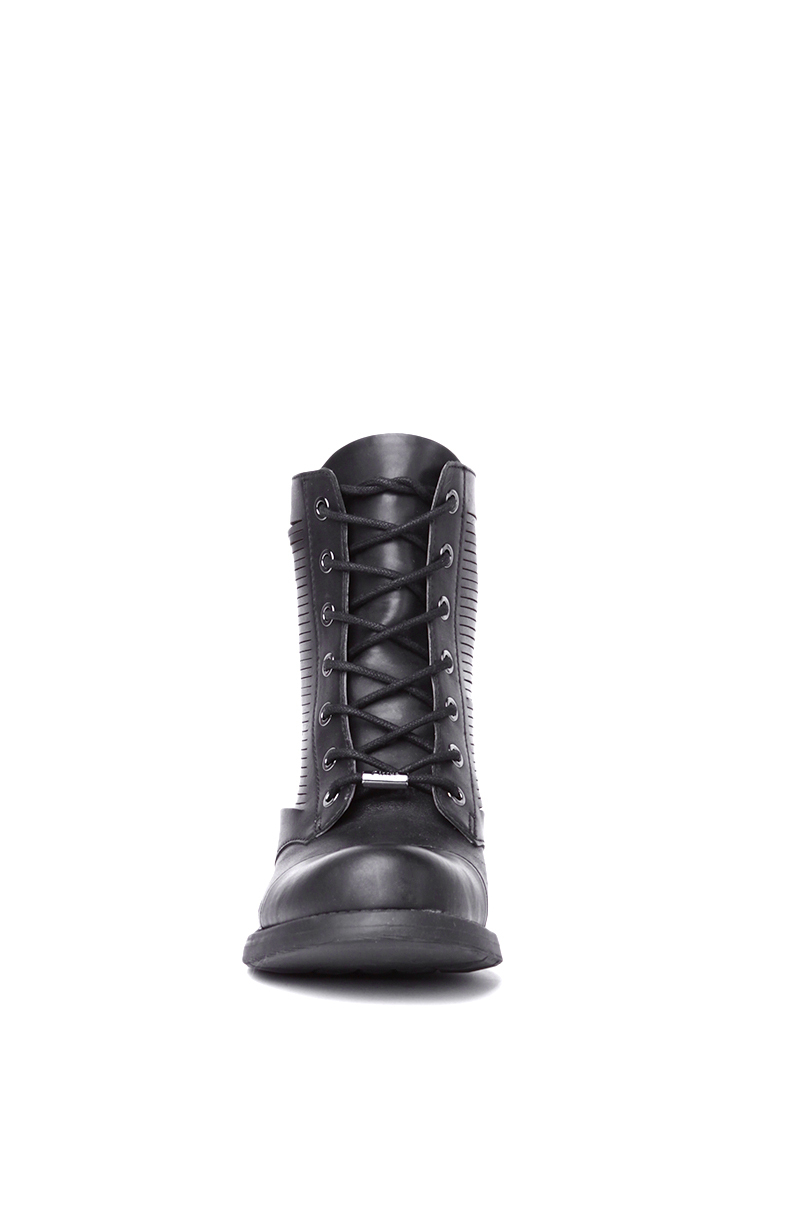 fe7d8c8eee73e3 Lyst - Sam Edelman Circus By Gatson Combat Boots in Black in Black