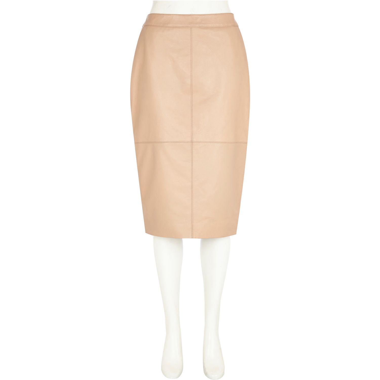 light pink high waisted skirt redskirtz