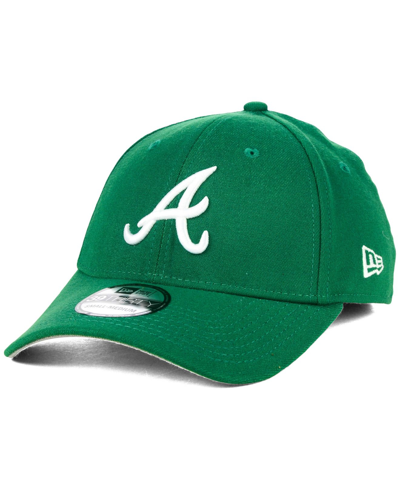 finest selection 409a9 4006f ... czech shopping lyst ktz atlanta braves st. patty classic 39thirty cap  in green fbe74 2315e