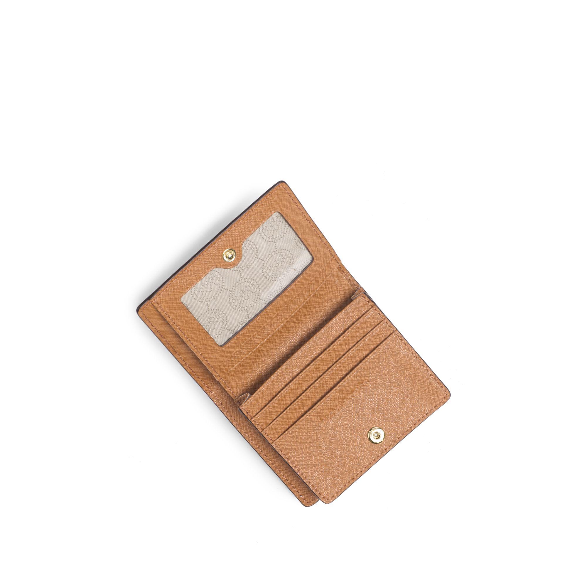 Jet Set Travel Patent Leather Card Holder