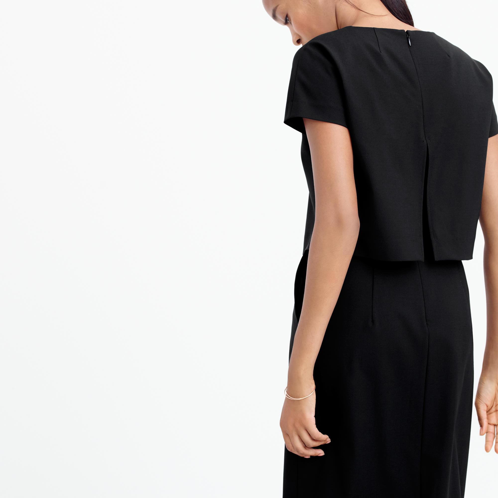 Black dress j crew - Be Inspired