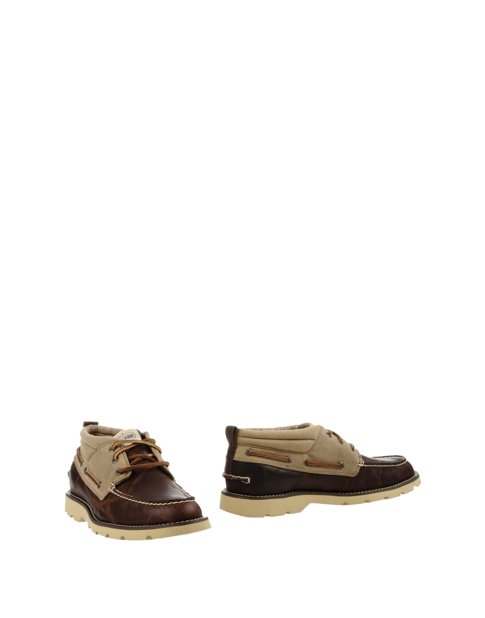 sperry top sider ankle boots in brown for lyst