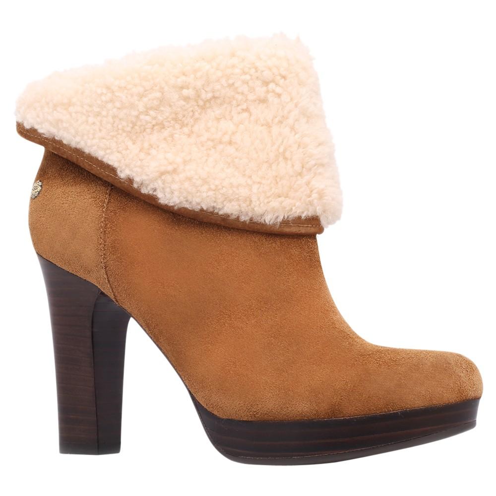08ef82bf256 Ugg Dandylion Ii Suede Ankle Boots Black