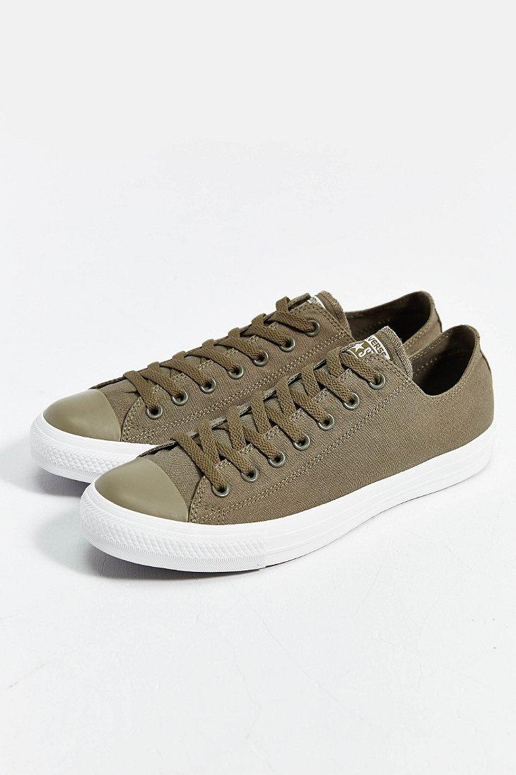 3de5ea023d57 Lyst - Converse Chuck Taylor All Star Mono Low-Top Sneaker in Green ...