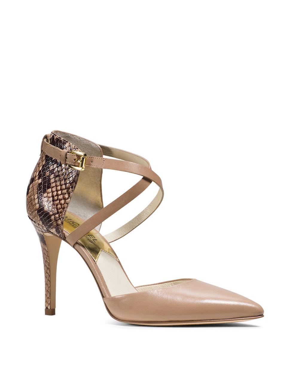 michael kors beige snakeskin embossed leather purse info cel