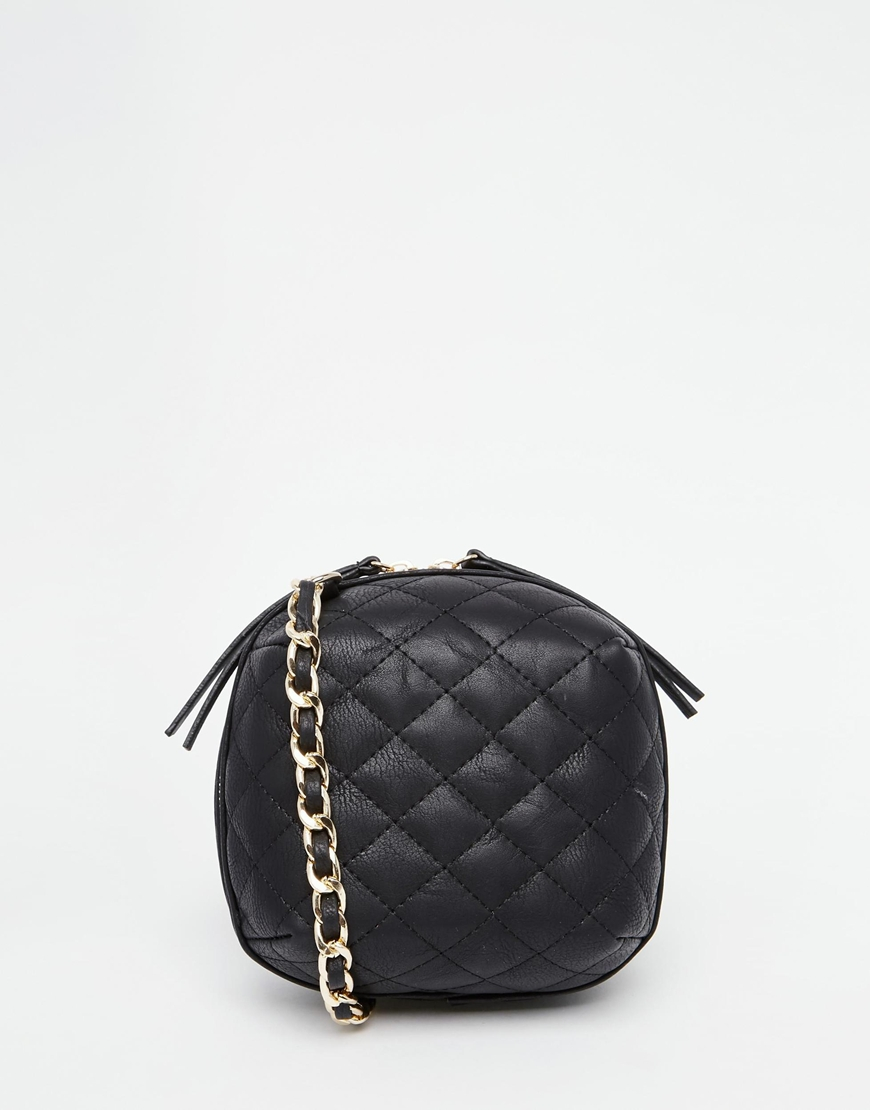 Quilted Crossbody Bag With Chain 28