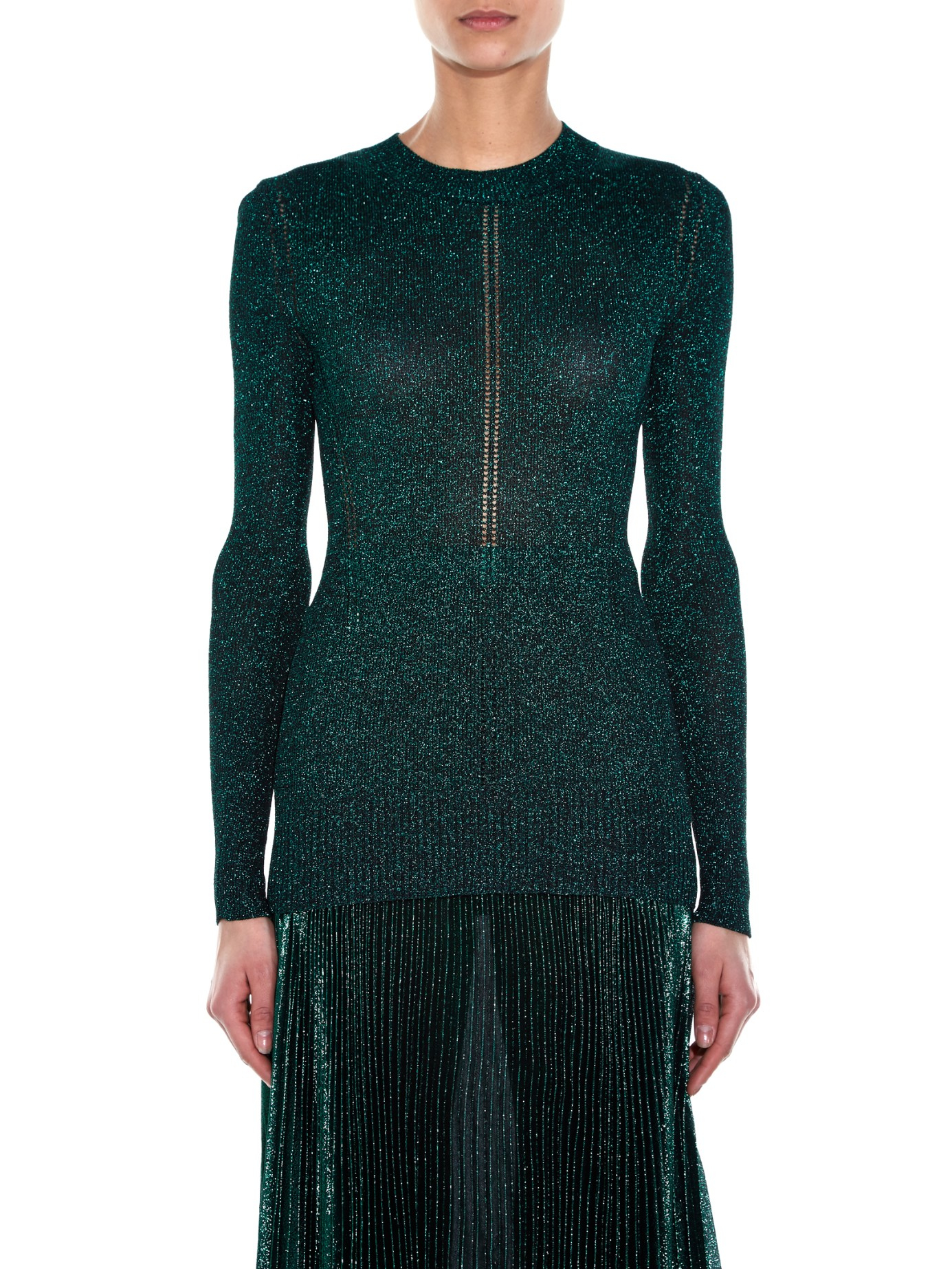Lowest Price Christopher Kane metallic jumper Multi Coloured Sale New Styles Outlet Clearance Free Shipping Fast Delivery 0ccCwpSg9