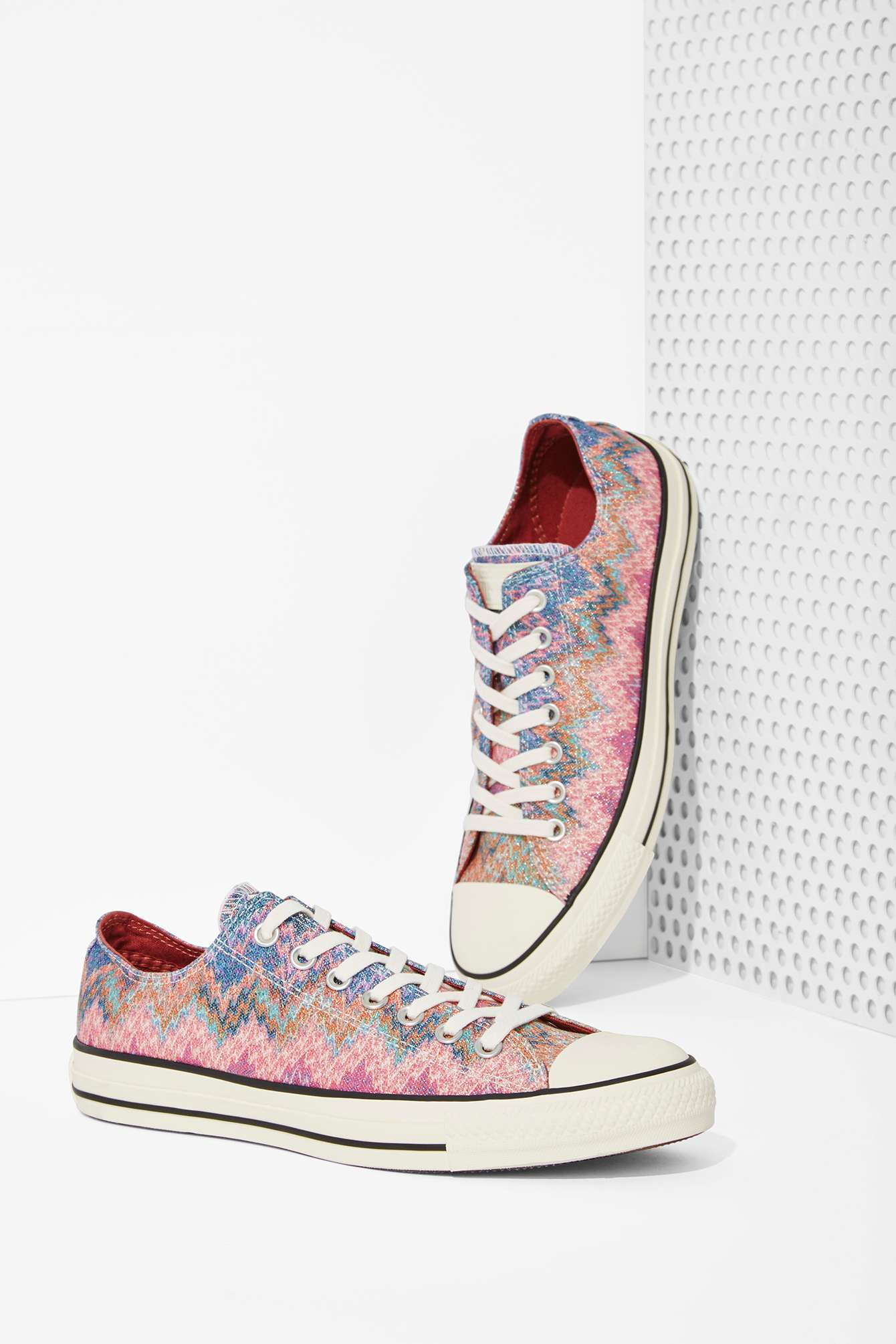 3993437131326a Lyst - Nasty Gal Missoni X Converse All Star Low-top Sneaker