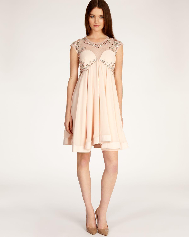 Lyst Coast Dress Thalia In Pink