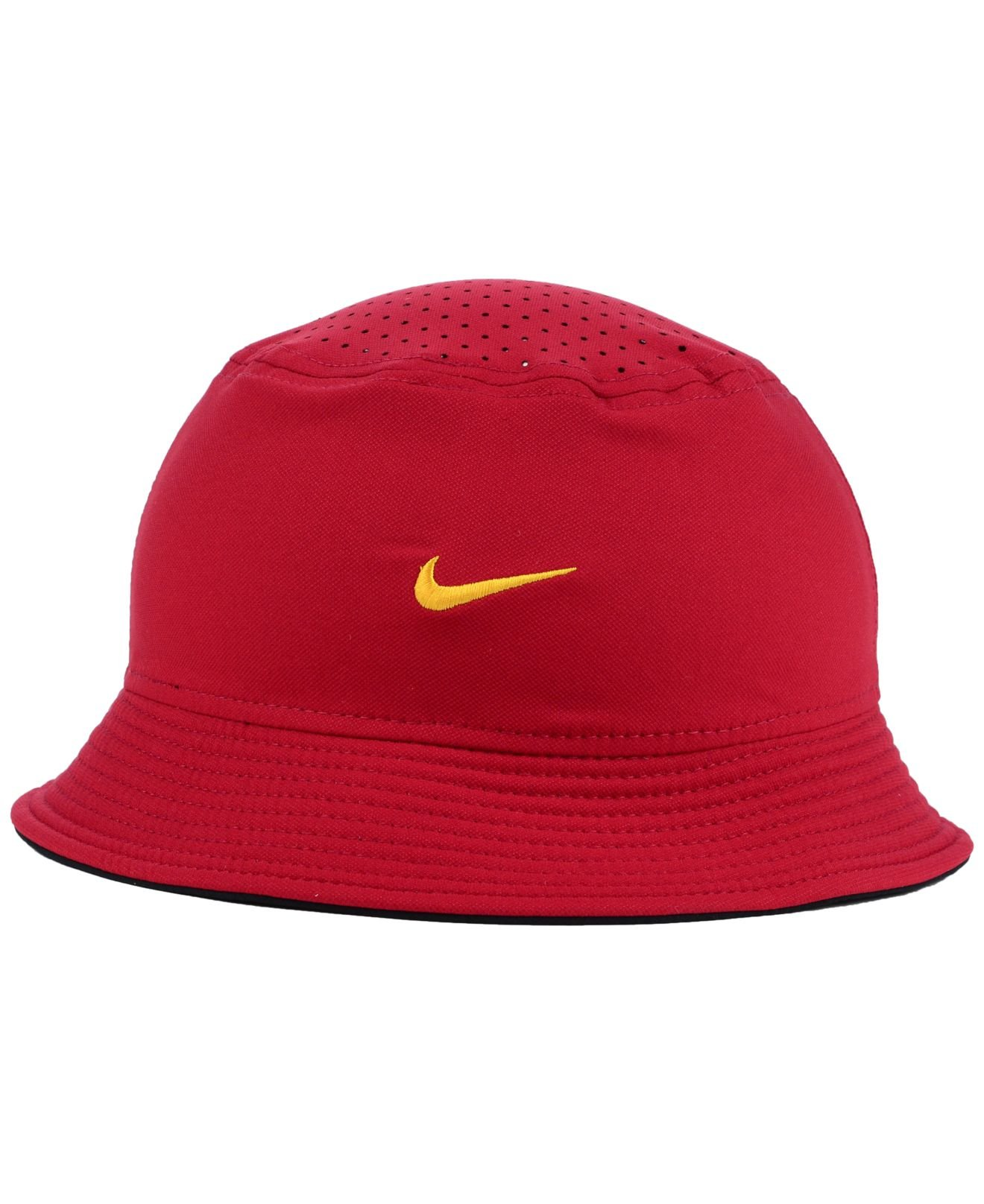 c37ea8a18da Lyst - Nike Usc Trojans Vapor Bucket Hat in Red for Men
