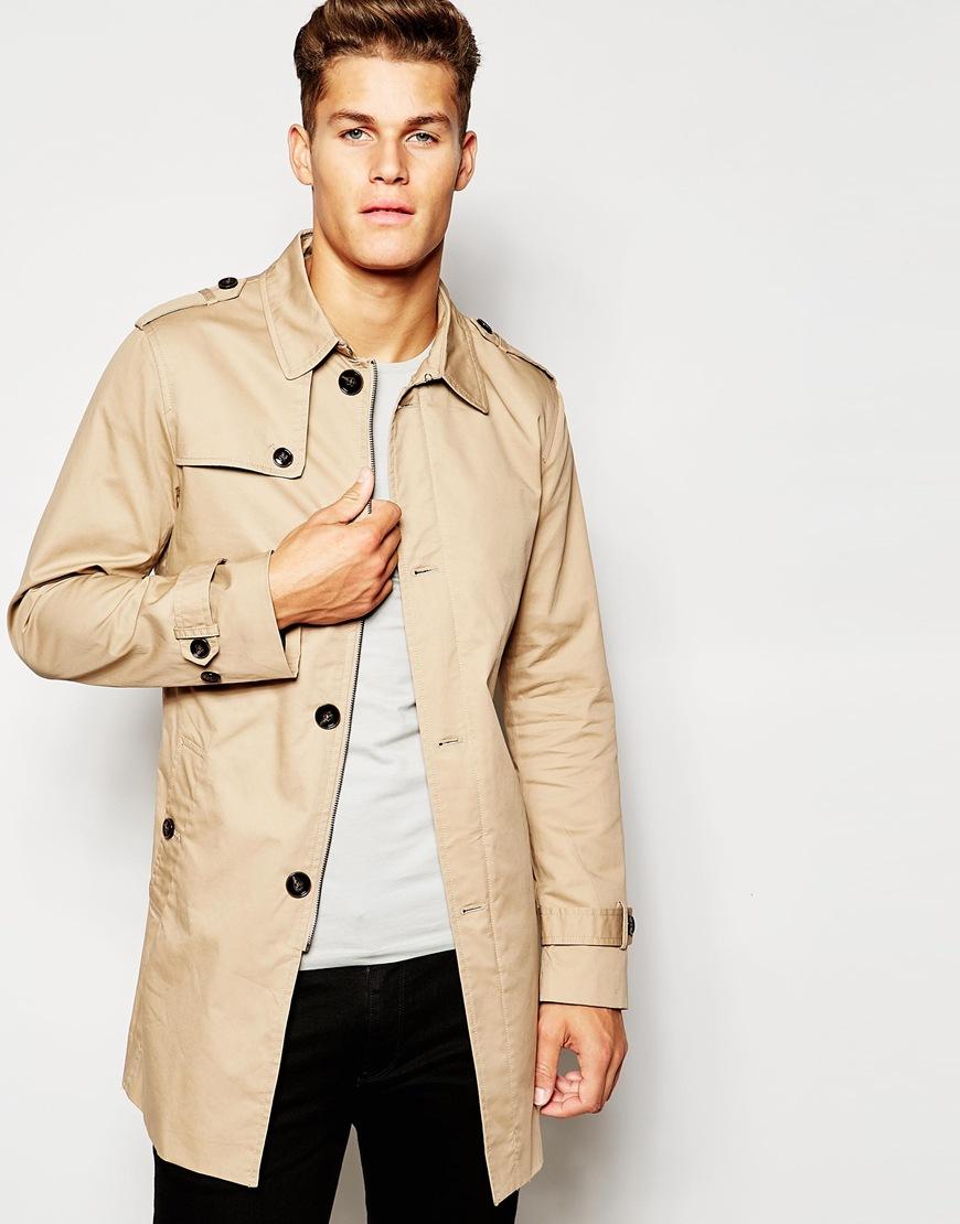 Mens jacket camel - Gallery